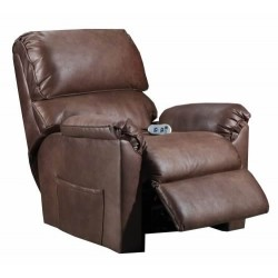 Barron Power Lift Recliner - Mocha