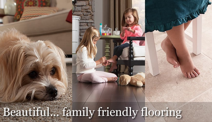 Family friendly flooring