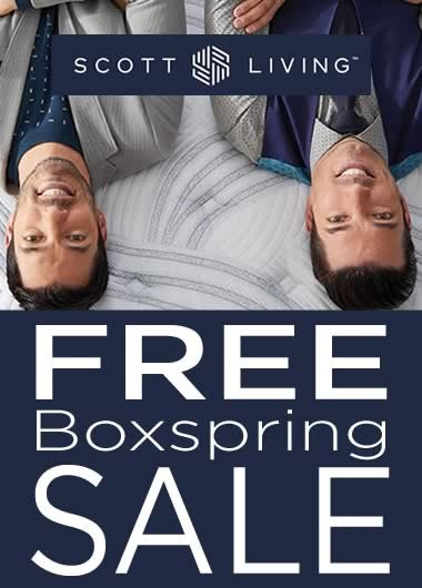 Scott Living by Restonic Free Boxspring Sale