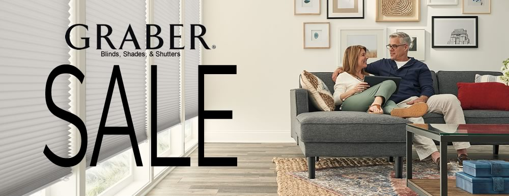 Thornton's Graber Blinds and Shades Sale