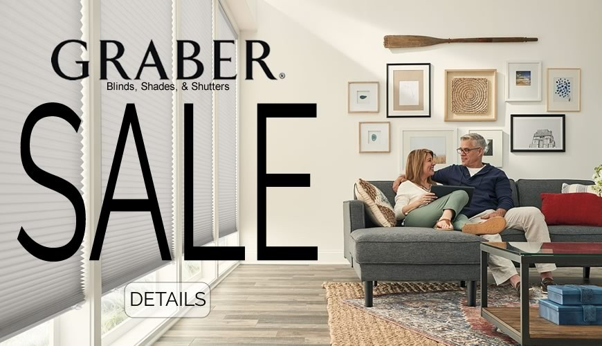 Graber Blinds and Shades Sale